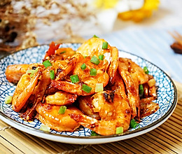 暴下饭的椒盐虾的做法