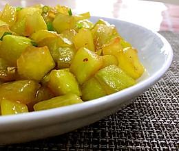 消暑清热下粥小菜清炒西瓜皮的做法
