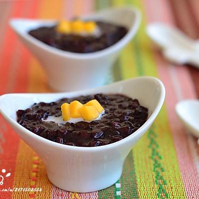 芒果紫米甜汤