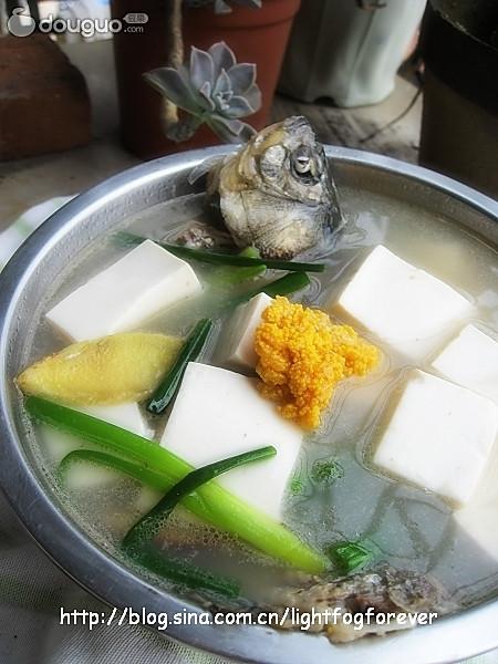 豆腐鲫鱼汤的做法