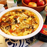 #福气年夜菜#暖心暖胃,减脂消食-家常酸辣汤的做法图解17