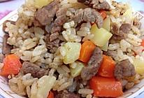 牛肉土豆焖饭--超级简单易上手的懒人菜谱的做法