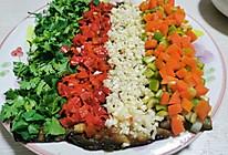 来自星星的美食--彩虹香煎茄子的做法