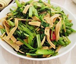 【素食主义】芹菜炒千张的做法