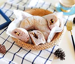 零负担的紫薯蜂蜜软欧包的做法