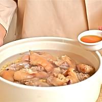 迷迭香美食| 黄豆炖猪蹄的做法图解5