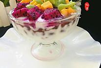 蜜红豆酸奶水果盅的做法