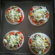 迷你比萨——家庭简易版