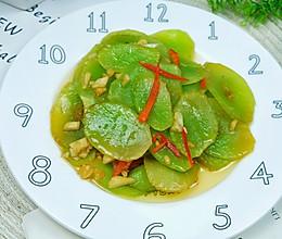 #憋在家里吃什么#好吃不上火的蒜蓉莴笋的做法