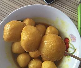 咖喱鱼蛋简易法的做法