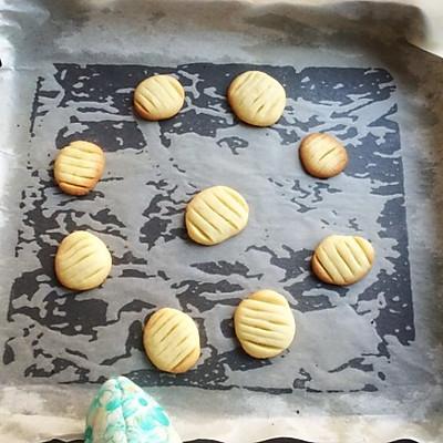 初体验の 卡通黄油小饼干的做法 步骤15