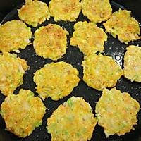 彩色蔬菜鸡蛋饼的做法图解4
