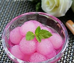 胭脂冬瓜球(减肥大菜)的做法