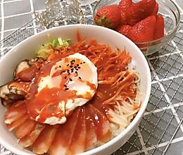 #餐桌上的春日限定#灵魂拌饭-韩式拌饭的做法