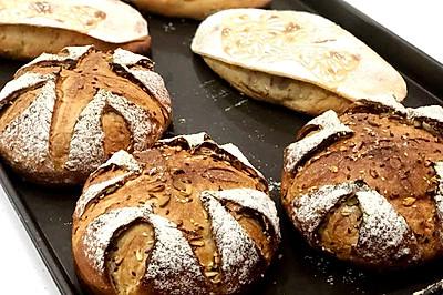 榧香鸟包-欧式面包#挚爱烘焙·你就是MOF#