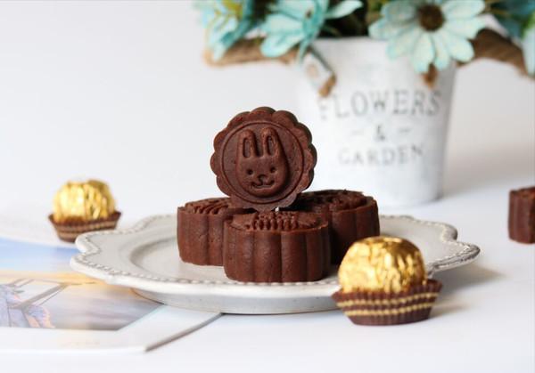 巧克力月饼(超详细)