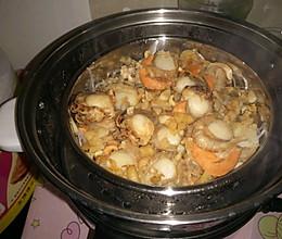 蒜蓉粉丝扇贝肉的做法
