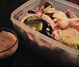 咸水鸡 零油腻零负担的宵夜小吃下酒菜的做法