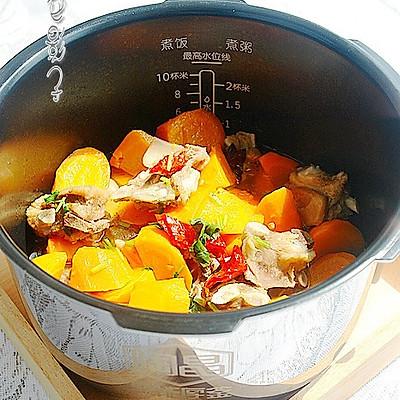 胡萝卜羊肉汤~~冬季暖身