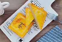 #夏日撩人滋味#芝士沙拉烤吐司片的做法