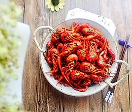 #520,美食撩动TA的心!#香辣口味虾的做法