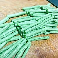 川菜 素 干煸豆角 快手家常菜 下饭菜的做法图解3