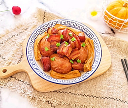 #下饭红烧菜#腐竹卤蛋红烧肉的做法