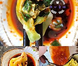 #美食视频挑战赛#鲜味十足的韭菜虾仁鸡蛋饺子的做法