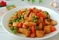 豌豆炒鸡胸肉 #中秋团圆食味 就爱这口家乡味#的做法