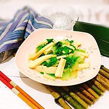 #父亲节,给老爸做道菜#凉拌香干黄芽菜