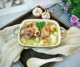 #洗手作羹汤#秋季滋补羊骨汤的做法