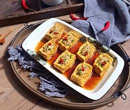肉酿豆腐盒子的做法