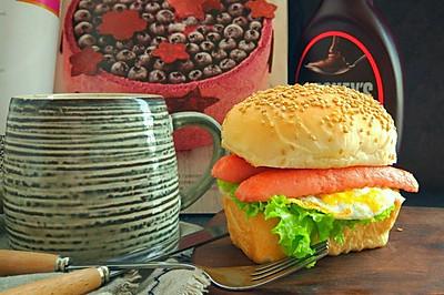 超柔软的~潜水艇迷你小汉堡