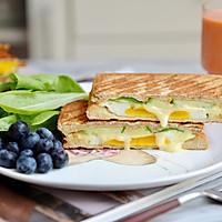 黄瓜鸡蛋热压三明治#花10分钟,做一道菜!#的做法图解17