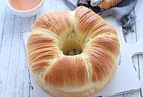 """#""""莓""""好春光日志#毛线球面包(蔓越莓椰蓉馅)的做法"""