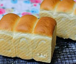 中种法奶香吐司面包 吐司又高又细腻绵软的秘密 珍藏的黄金配方的做法