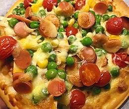 懒人版美味烤披萨的做法