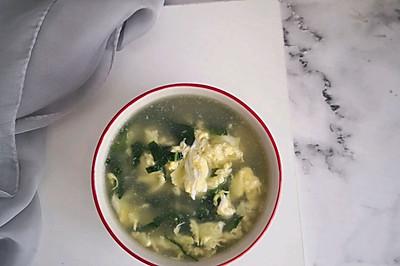 家樂濃湯寶~青菜雞蛋湯