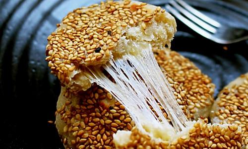 芝心糯米香蕉饼的做法
