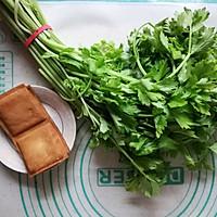 香芹炒豆干#花10分钟,做一道菜!#的做法图解1