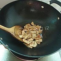 青笋木耳炒肉片的做法图解2