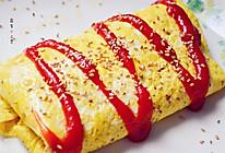 番茄蛋包饭#全民赛西红柿炒蛋#的做法