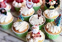 #安佳食力召集,力挺新一年#简易圣诞杯子蛋糕的做法