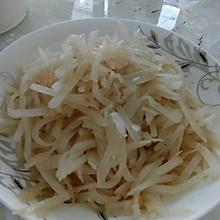 炒白萝卜丝