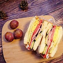 番茄火腿三明治