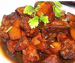 超好吃的照烧鸡腿炖土豆的做法