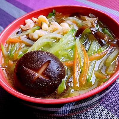 萝卜海米汤