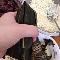 闹端午!碱水红豆粽(新手四角包法)的做法图解21