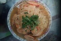 虾炖萝卜丝的做法