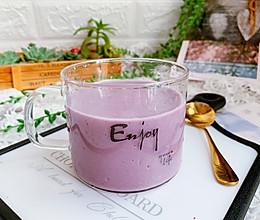 紫薯香蕉奶露#硬核菜谱制作人#的做法